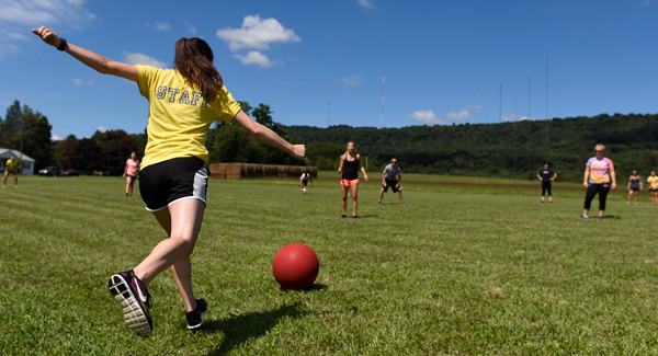 Central Penn College Athletics Intramural KickBall