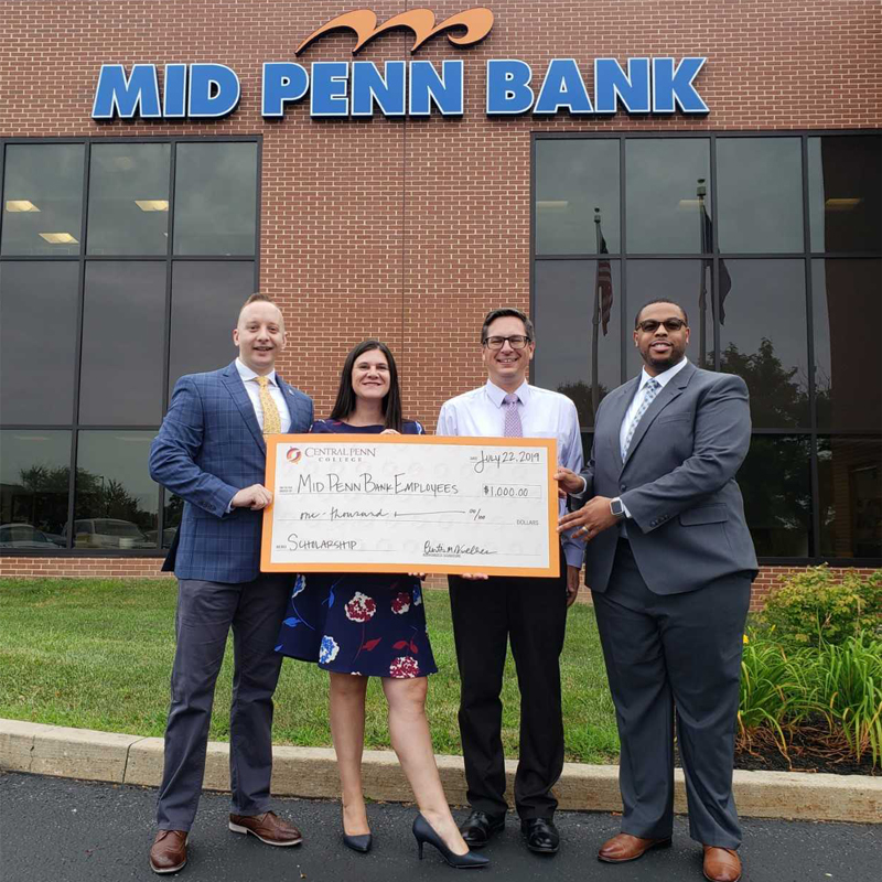 Central Penn College partners with Mid Penn Bank