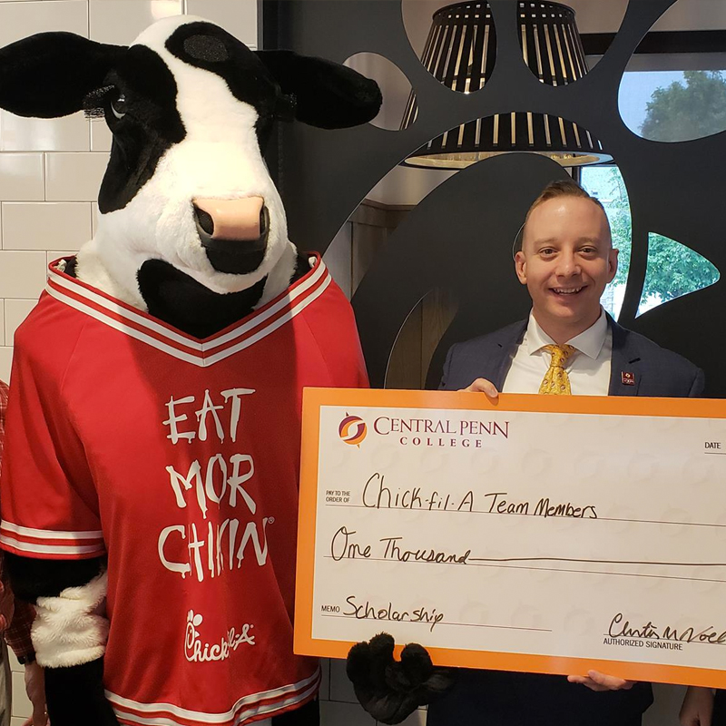 Central Penn College partners with Chick-Fil-A