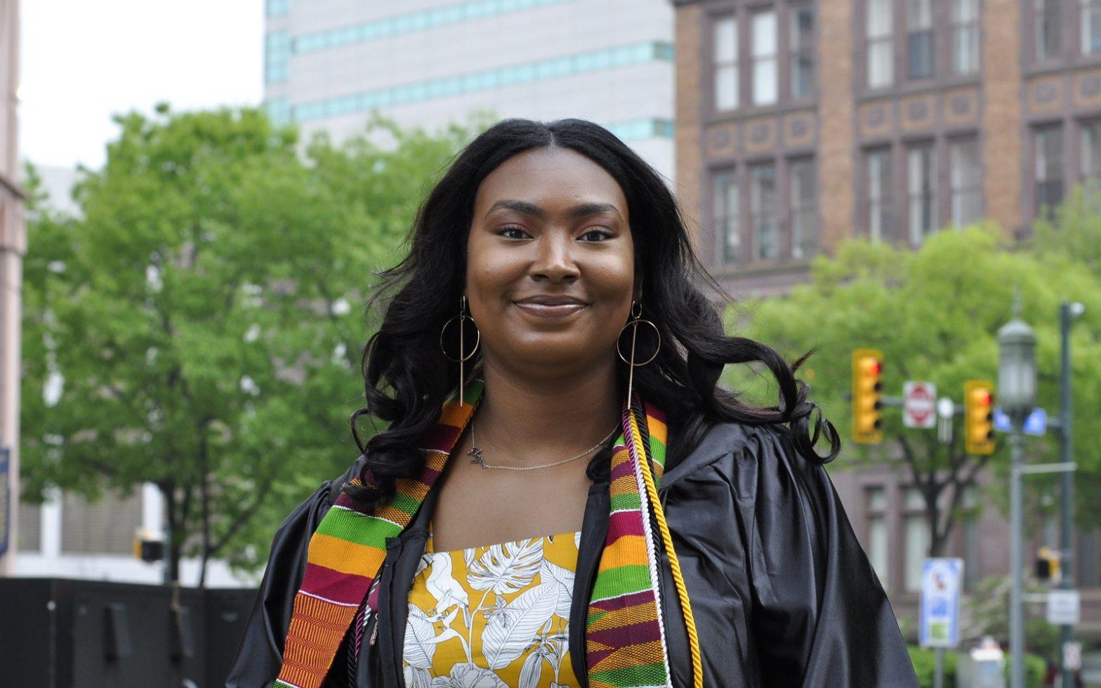 Morgan Littleford receives Central Penn College's Student Leadership Award