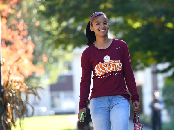 Natalie Richards on Campus