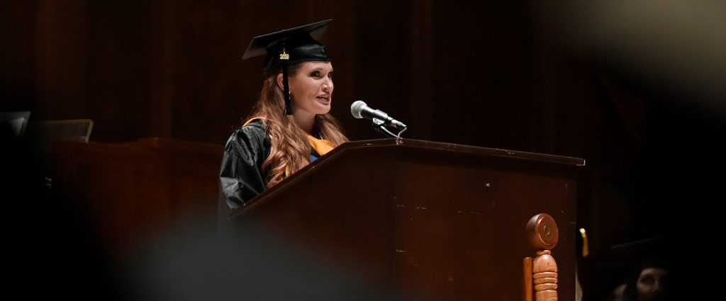 Central Penn College Valedictorian Jaclyn Keys