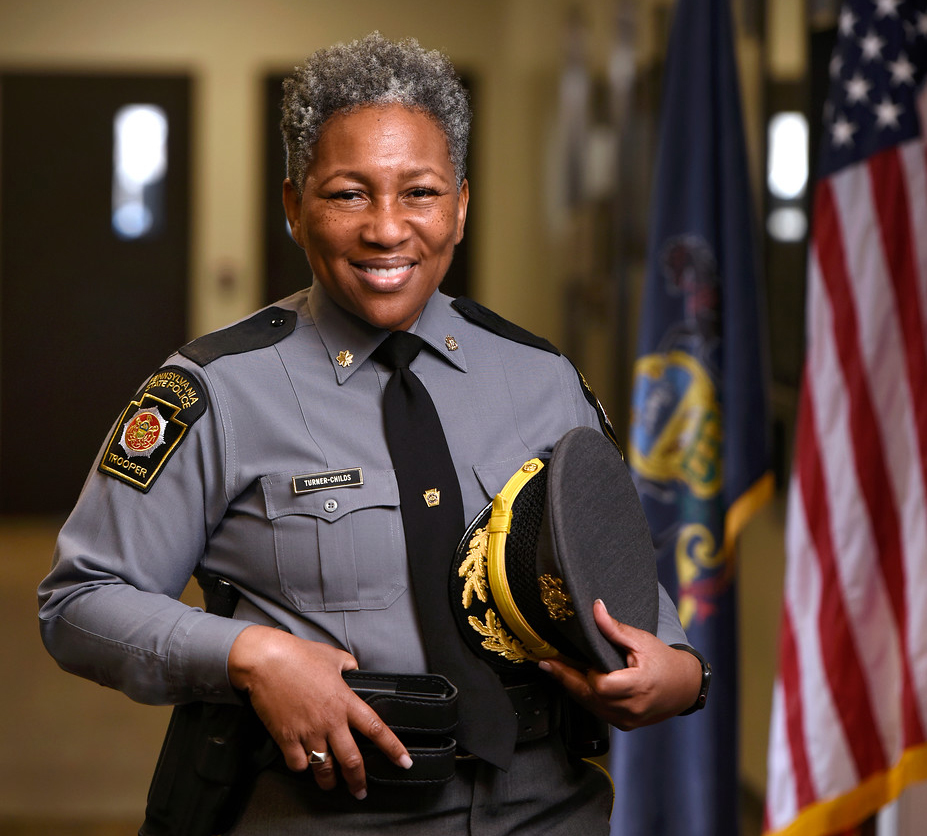 Kristal Turner-Childs was promoted to major and named as the director of the 300-person Bureau of Forensic Services